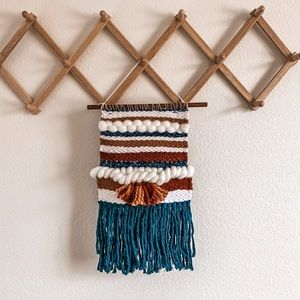 Boho style wall hanging tapestry